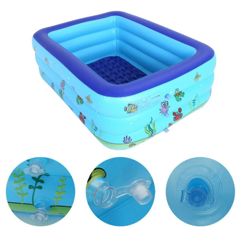 Outdoor Inflatable Kids Center Play Fun Blue