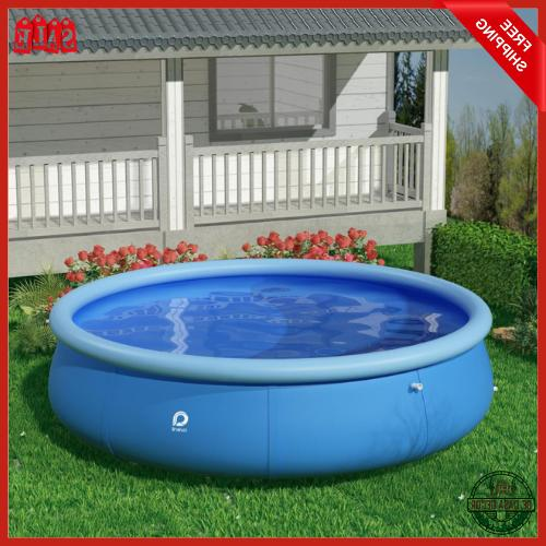Outdoor Inflatable 12 ft. x 36 in Easy Durable Blue