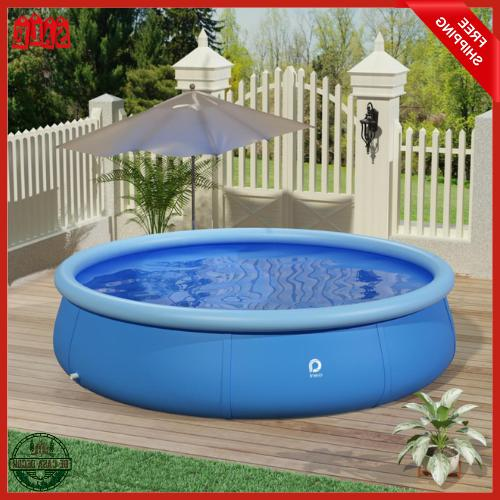 outdoor inflatable pool 12 ft x 36
