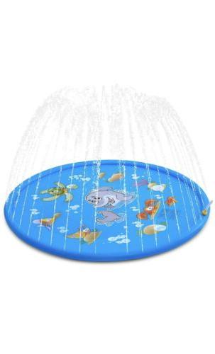 Outdoor Lawn Inflatable Pad for Kids Pool