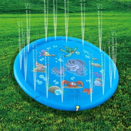 Outdoor Inflatable Pad for Kids Pool