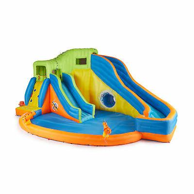 pipeline twist inflatable water park