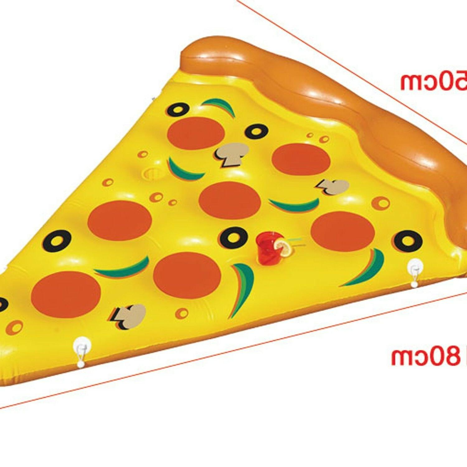Pizza Inflatable Pool Summer Float Outdoor Fun Toys