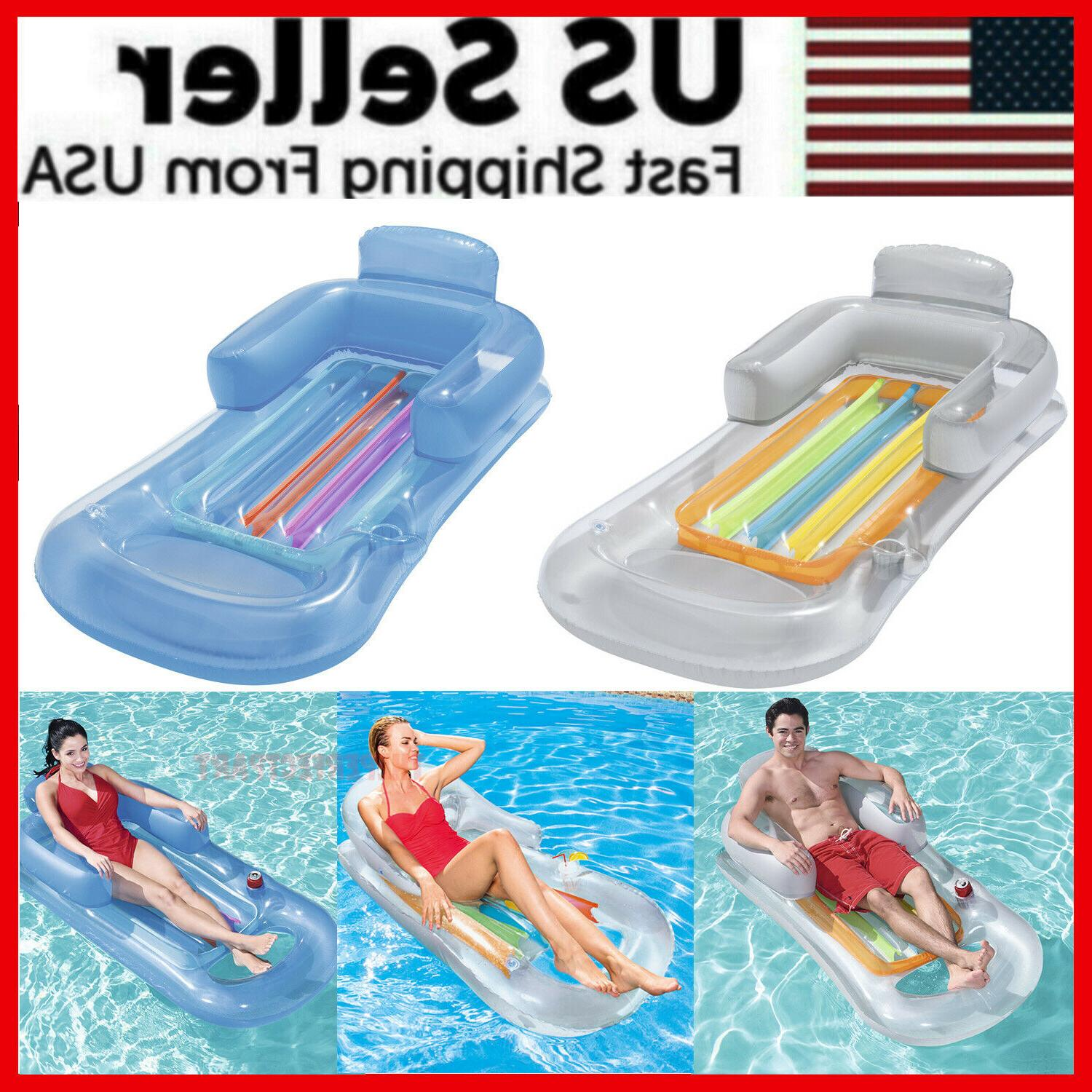 pool float lounge floating swimming lounger