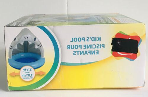 Inflatable Grey & 3.3ft Wide 40x39x37in