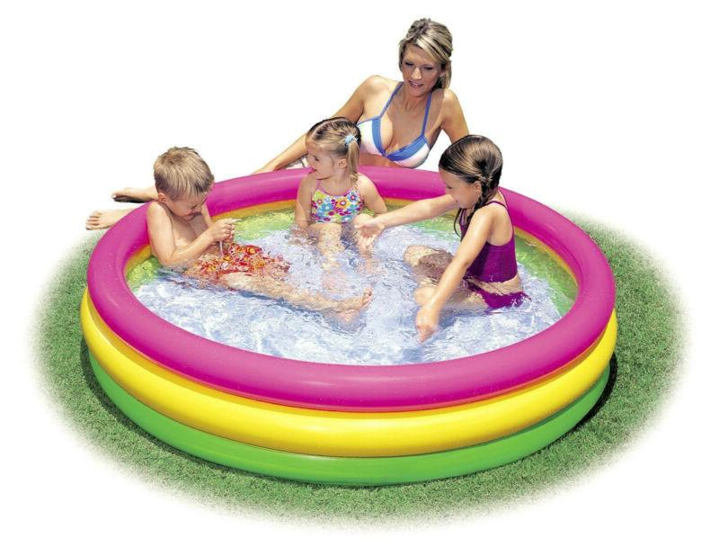 Pool Inflatable Fun Swimming Water Outdoor B