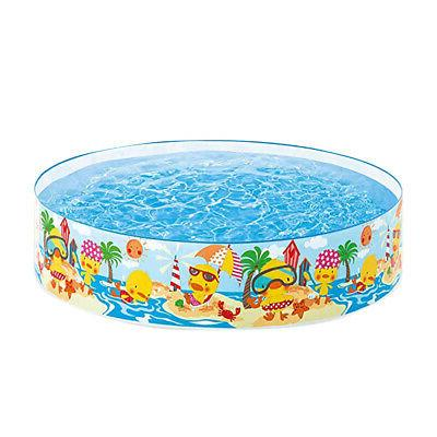 Family Non Inflatable Portable Foldable Snapset Pool Round C