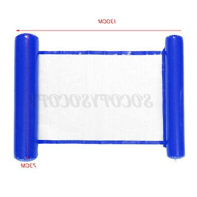 Portable Inflatable Float Water Lounge Bed Chair