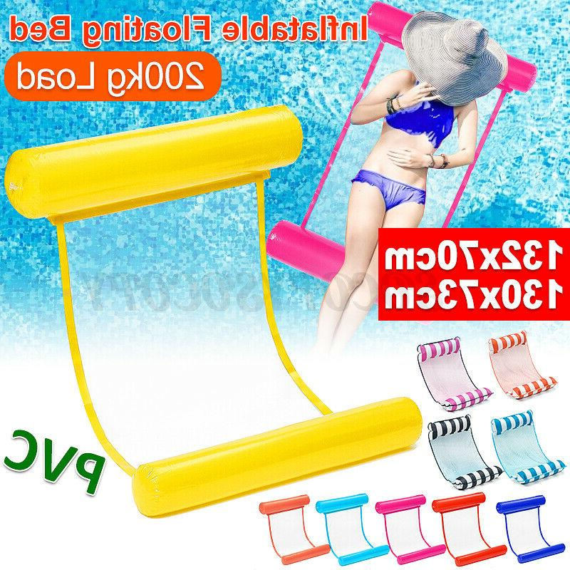 portable swimming inflatable floating float water hammock