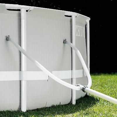 Intex Ground Pool and Float