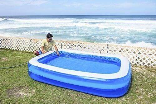 "Jilong Family Pool Blue, 103"" x"