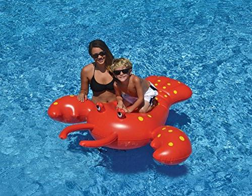red rock lobster inflatable novelty