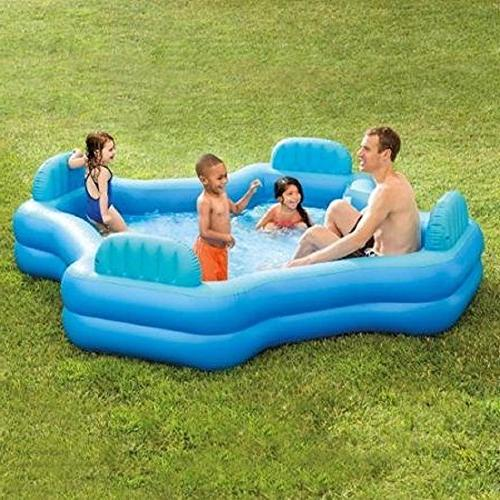 Intex And Keep Cool Family Lounge 221 Gallons Water,