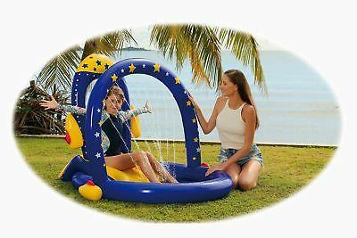Rocket Pool with Slide   Best Inflatable Playground with Slides for Inf...