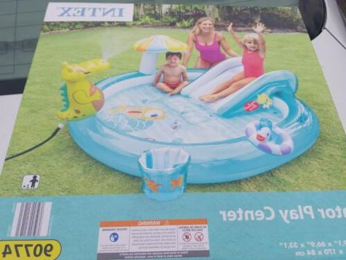 ships now gator outdoor inflatable kiddie pool