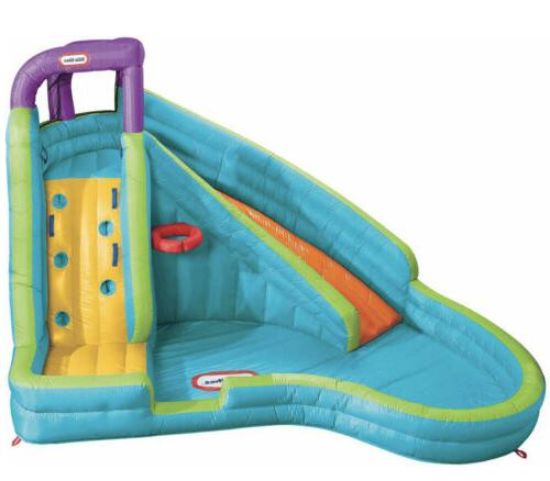 Curve Inflatable Water Slide with