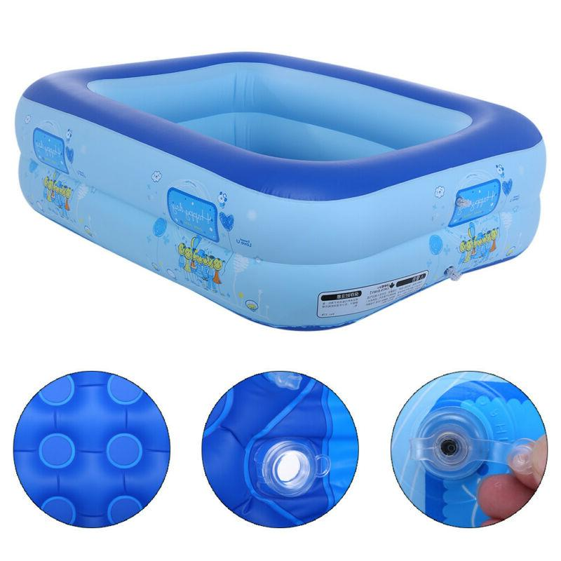 Inflatable Swimming Lounge Family Summer Water