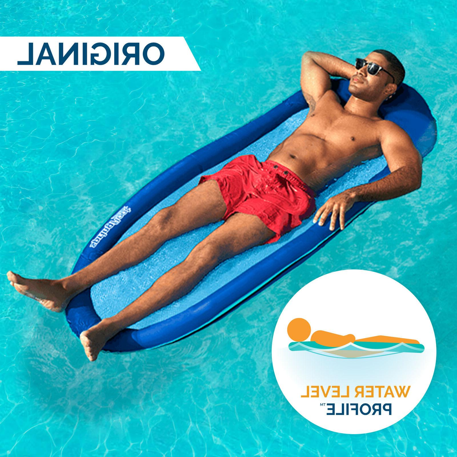 SwimWays Spring Inflatable Pool Lounger Valve