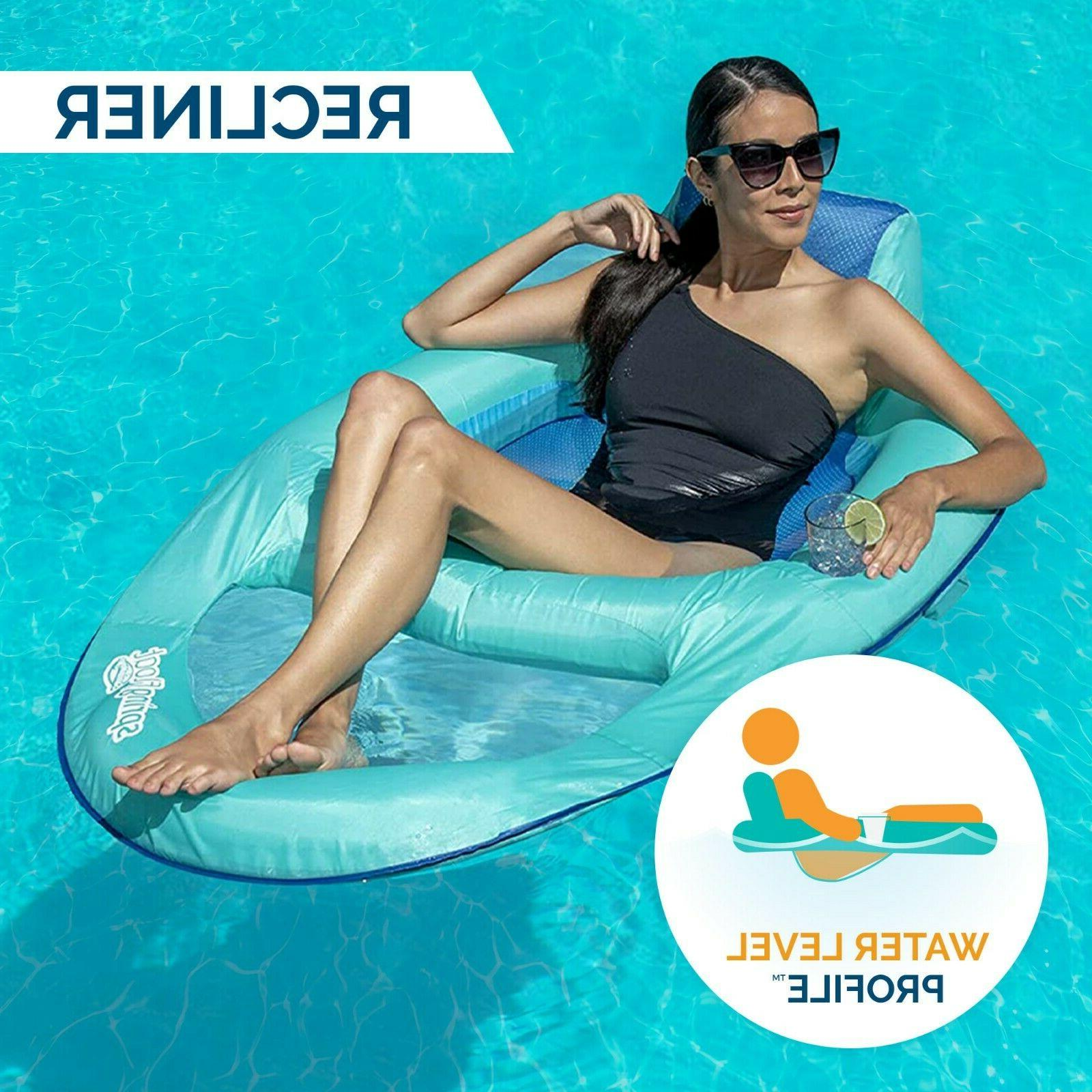 SwimWays Float Pool with Valve, Inflatable