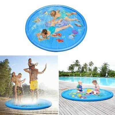 sprinkle splash play mat pad kids water