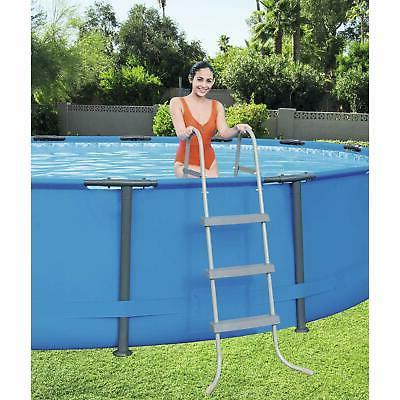 """Steel Pro Max 15'x42"""" Frame Above Ground Round Swimming Pool"""