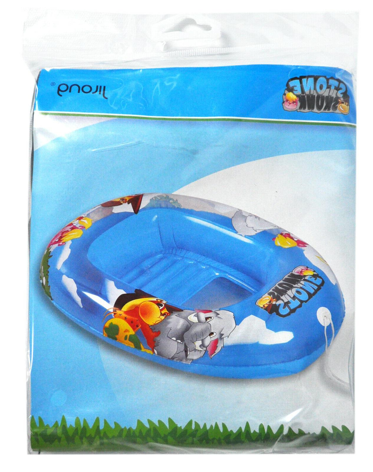 stone skunk inflatable pool boat