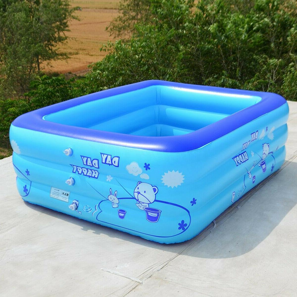 Summer Inflatable Pool Fun Play