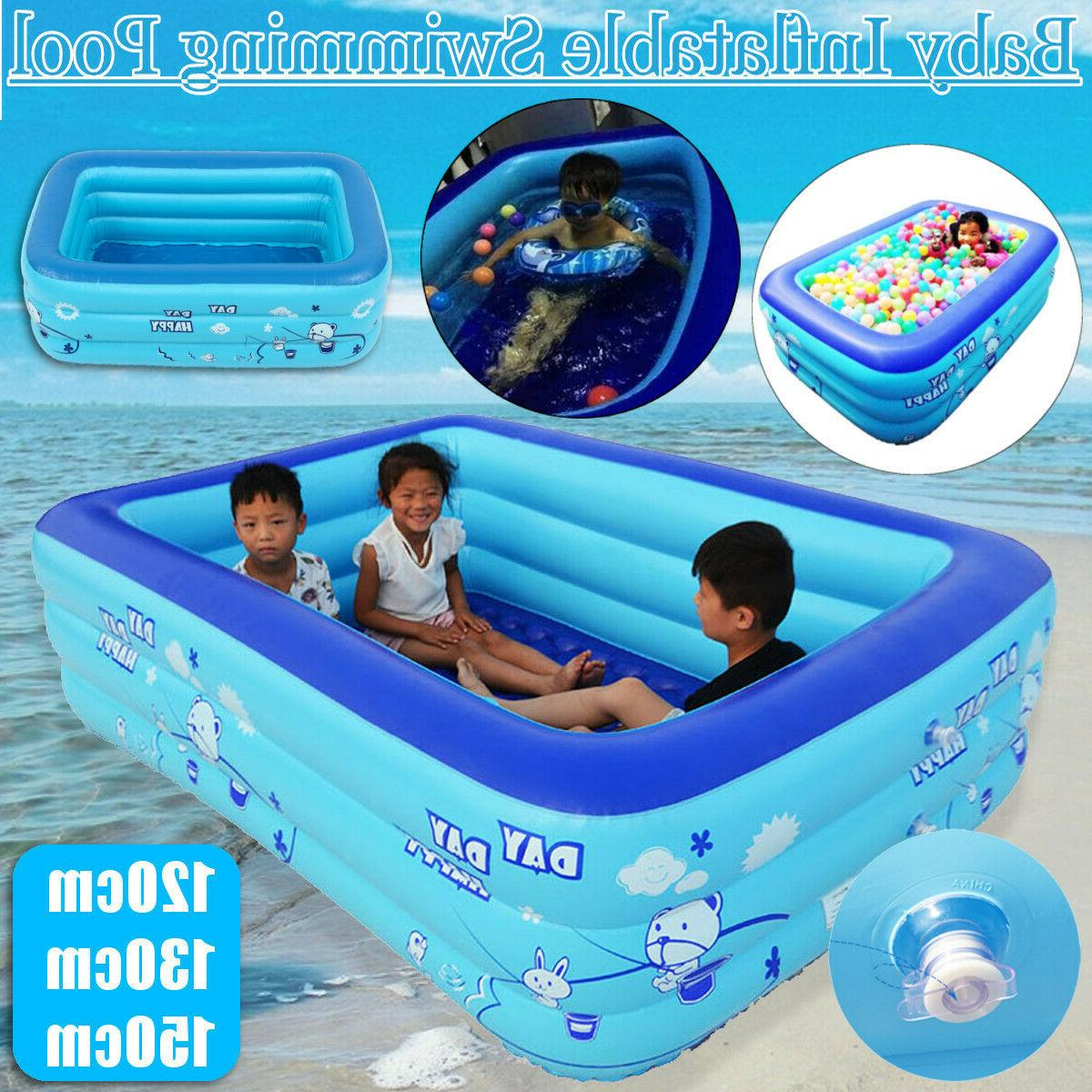 summer inflatable kids swimming pool swim center