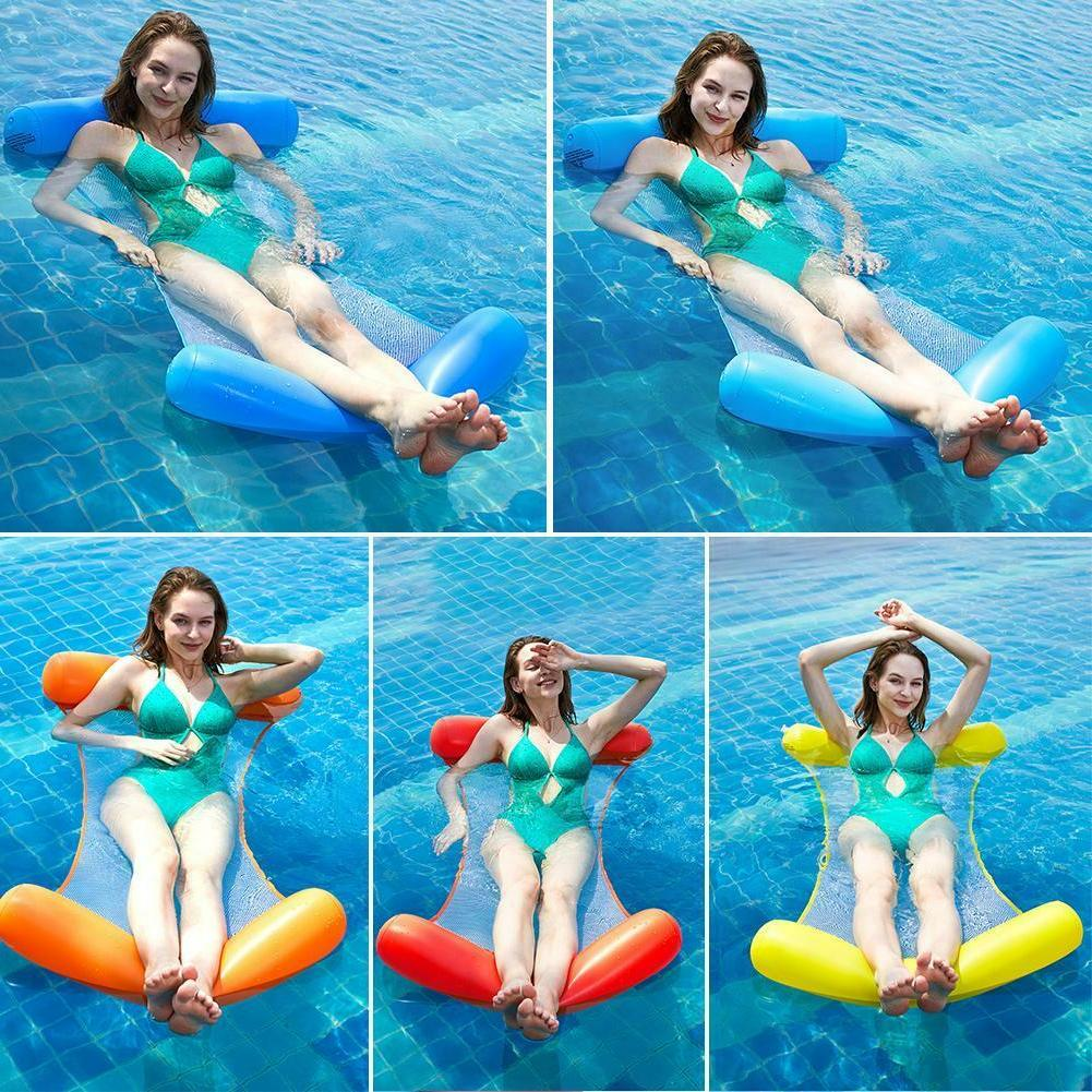 Summer Water Sports Foldable Inflatable Air Mattress Swimming