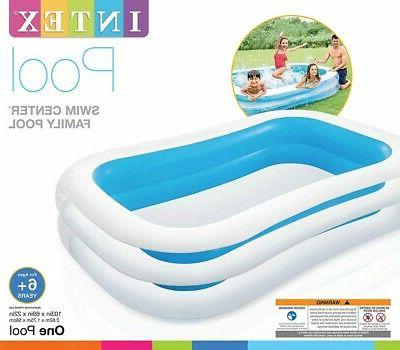 Intex Swim Center Family Inflatable Pool 103inch 69inch X Ages 6 an