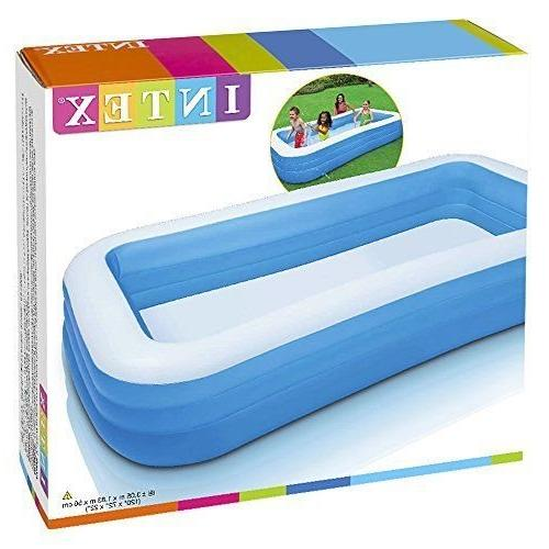 """Intex Inflatable Pool, 120"""" 72"""" for Ages 6+"""