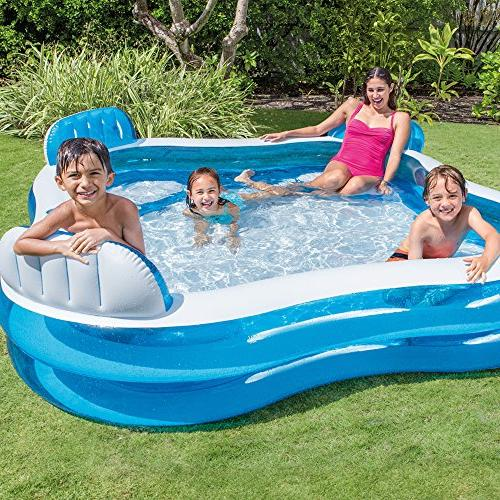 "Intex Lounge Inflatable Pool, 90"" X X 26"","