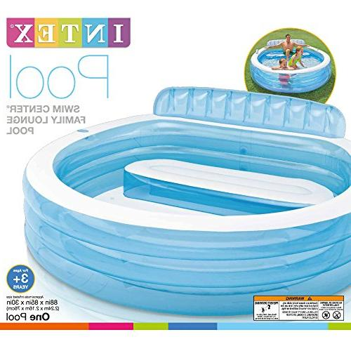 Intex Swim Inflatable Family Pool, X X 30in, for 3+