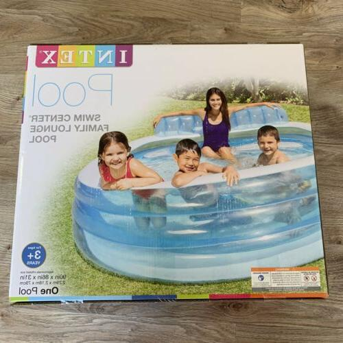 swim center inflatable family lounge