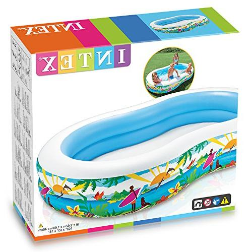 Intex Center Paradise Seaside Pool