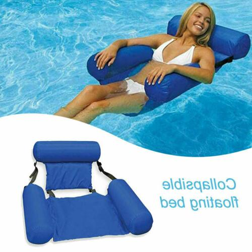 swimming floating chair pool seats inflatable lazy