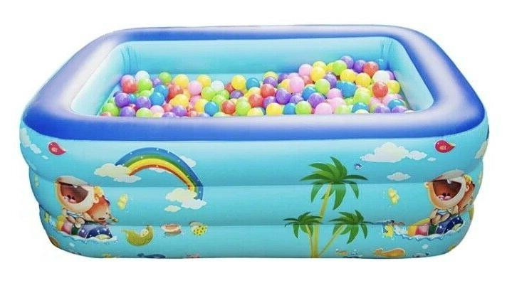 SWIMMING POOL inflatable adult pools outdoor ground summer fun