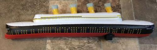 TITANIC Ship Inflatable Toy,new,2 Long,excellent,never
