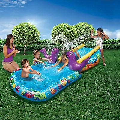 toddler inflatable first water slide