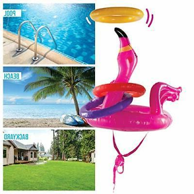 Top Race toss Games Outdoor, Inflatable Pool G