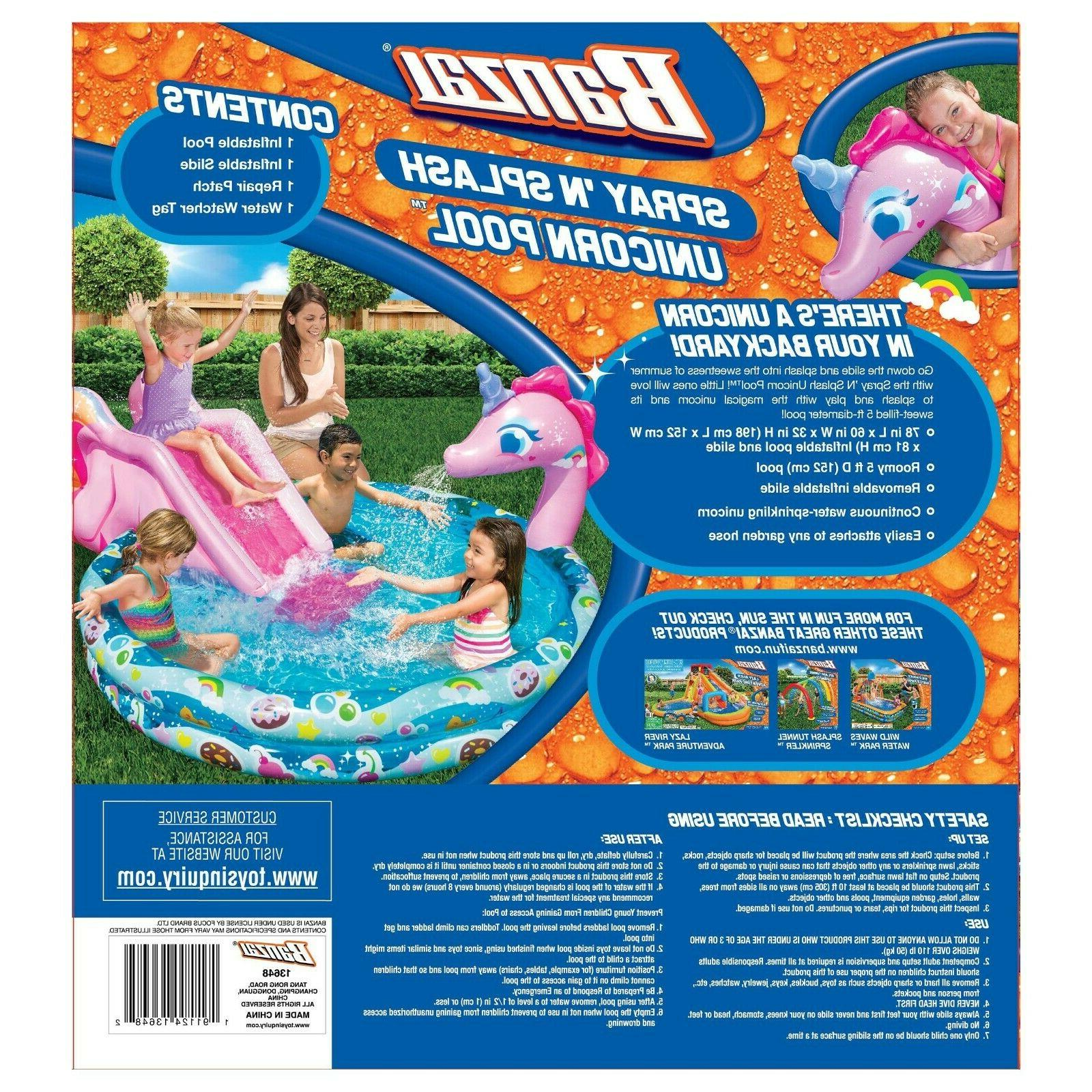 Unicorn Inflatable Seimming with Today!