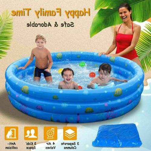 US Summer Inflatable Swimming Pool Water Play x