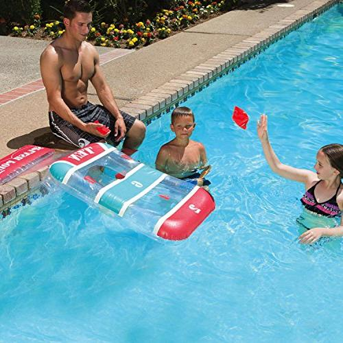 water inflatable splash point cornhole