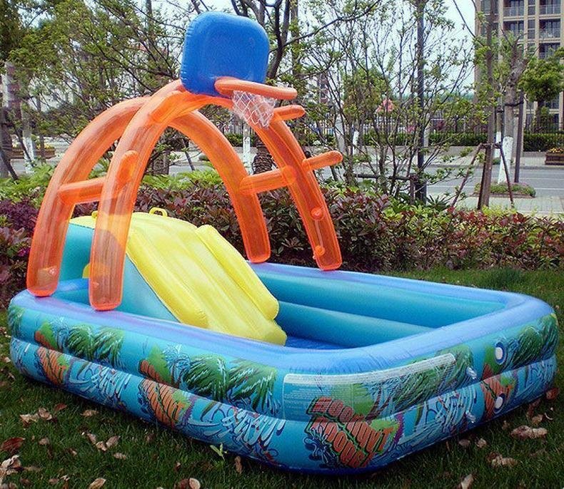 Water Slide Lawn Inflatables For Kid Set Toy