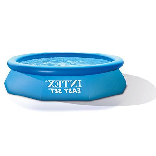 Intex x Easy Set Above Inflatable Pool, Filter, Cover