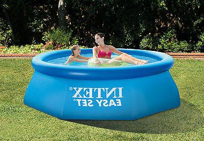 Intex x Easy Ground Family Summer Pool