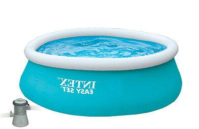 x easy set inflatable swimming