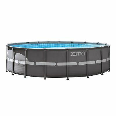 Intex 18' Ultra Frame Above Ground Swimming Sand