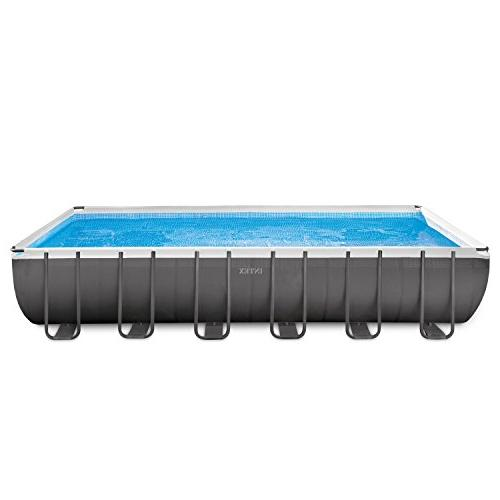 ultra frame above ground swimming
