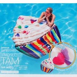Large Cupcake Dessert Swimming Pool Water Float Inflatable B